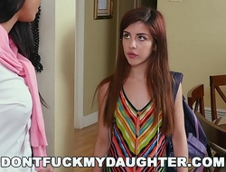 DON'T FUCK MY DAUGHTER - Rachel Starr and Bruno Fuck Teen Sally Squirt
