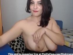 MILF With Big Tits Having Fun On Cam...