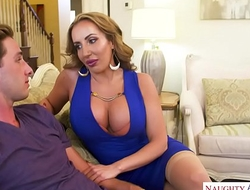 MILF Richelle Ryan needs young cock! Naughty America
