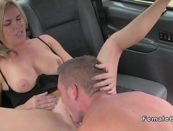 Dude pounds heavy booty female taxi driver