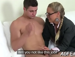 Bright orgasms by a sexy female agent