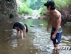 KOREA1818 PORNO  - Hawt Korean Upskirt In foreign lands