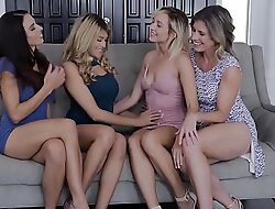 Lesbians Mother Daughter Exchange Worn out - Eva Distress and Eliza Jane