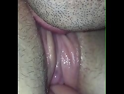 Fingering and wipe the floor with wifes pussy shoal asshole