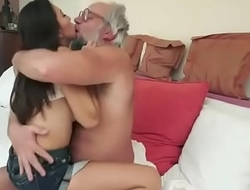 Old Man Samples a Young Cutie - Watch Pt 2 At MyLocalCamGirls porn